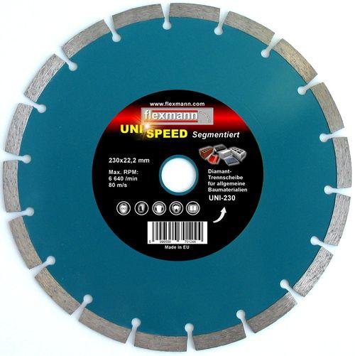 UNI-speed Segmentiert Diamantscheibe, Diamanttrennscheibe,